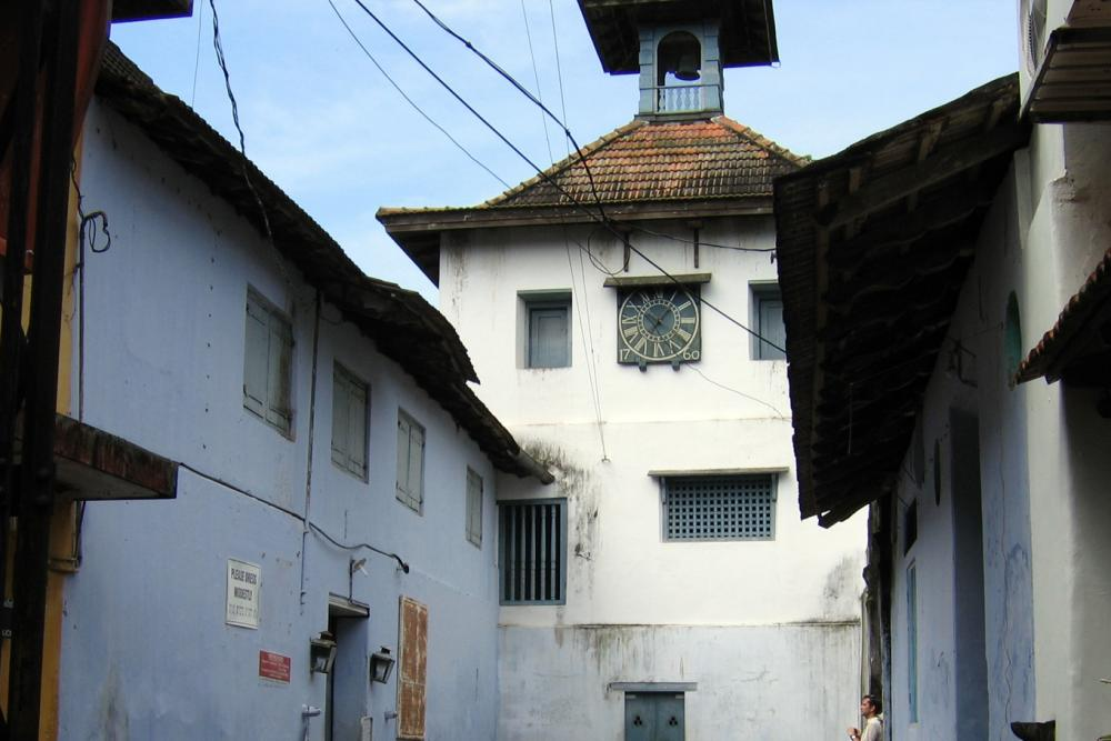 Fort Cochin - Jewish Synagogue