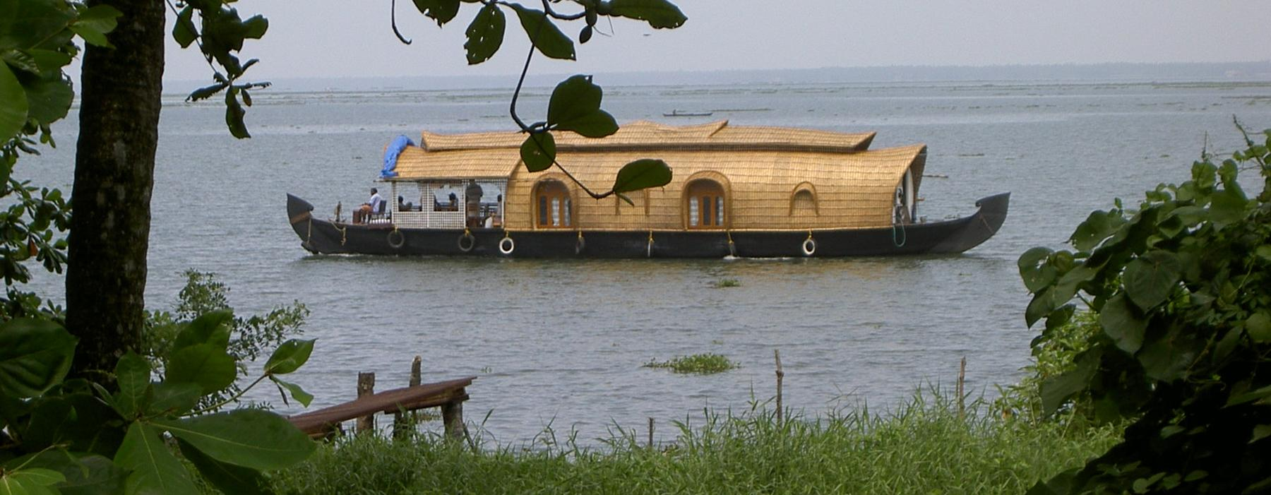 Ashtamudi Backwaters