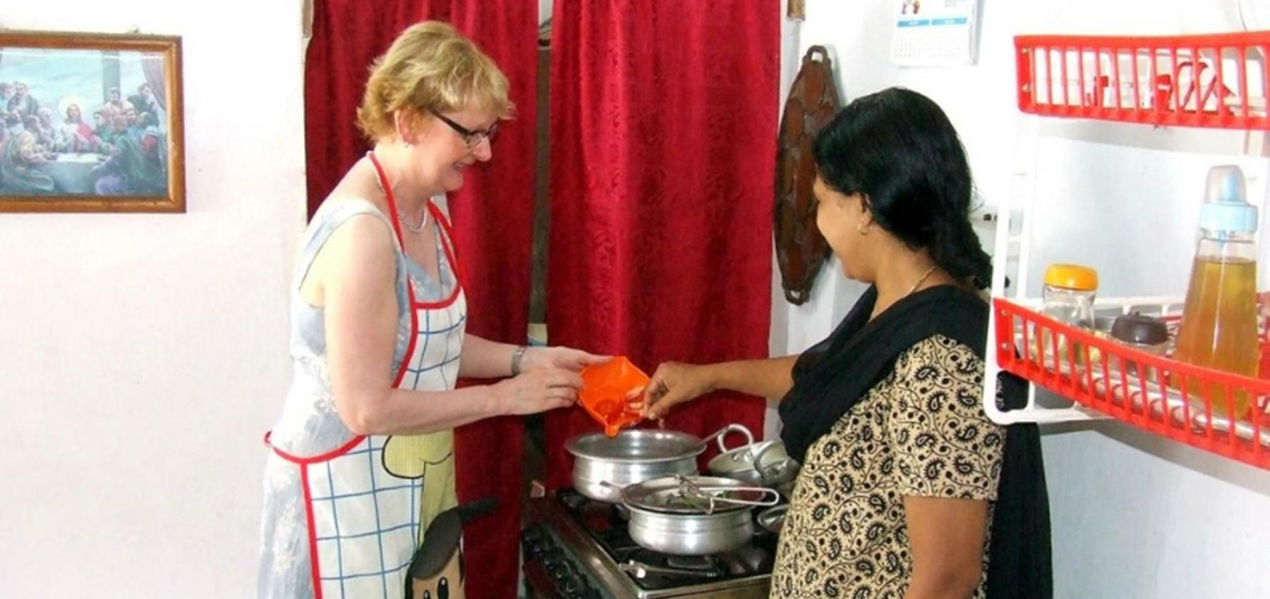 Maria's South Indian Cooking Class