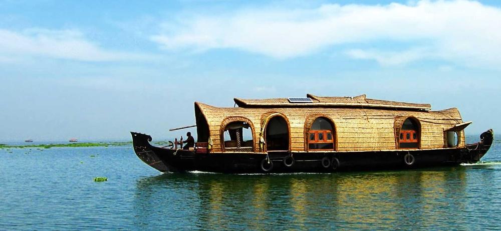 Houseboat in Kumarakom