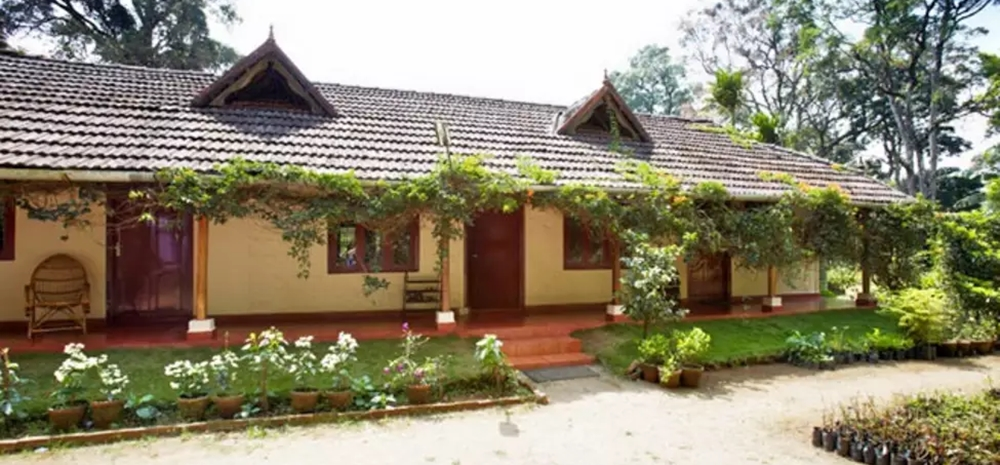 An exterior view of Rose Garden Homestay