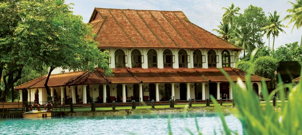 The exterior view of Taj Kumarakom
