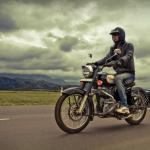 Motor bike riding