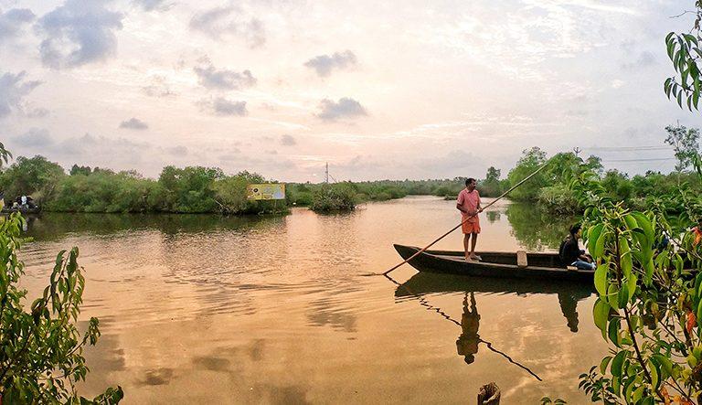 Canoeing-in-Kerala