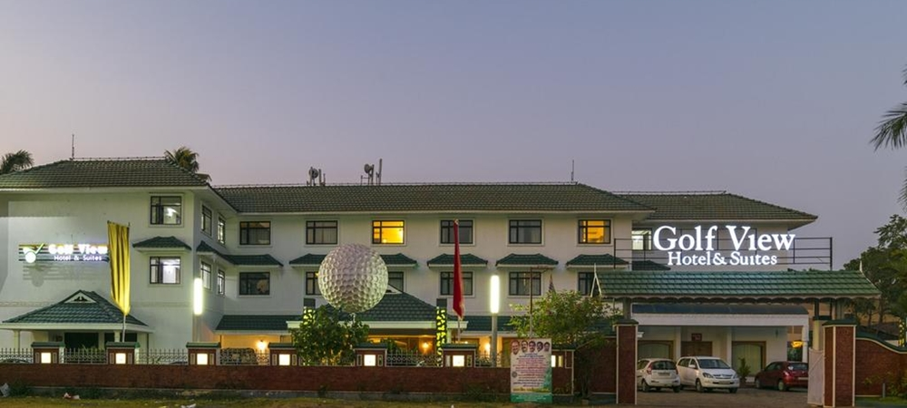 Exterior view of Golf View Hotel