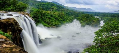 The waterfalls of Athirapally in their full glory