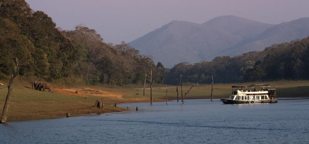 Periyar Lake in Monsoon