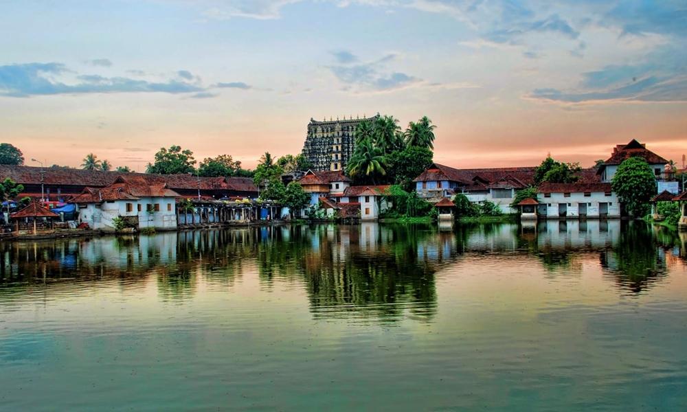 The city of Thiruvananthapuram