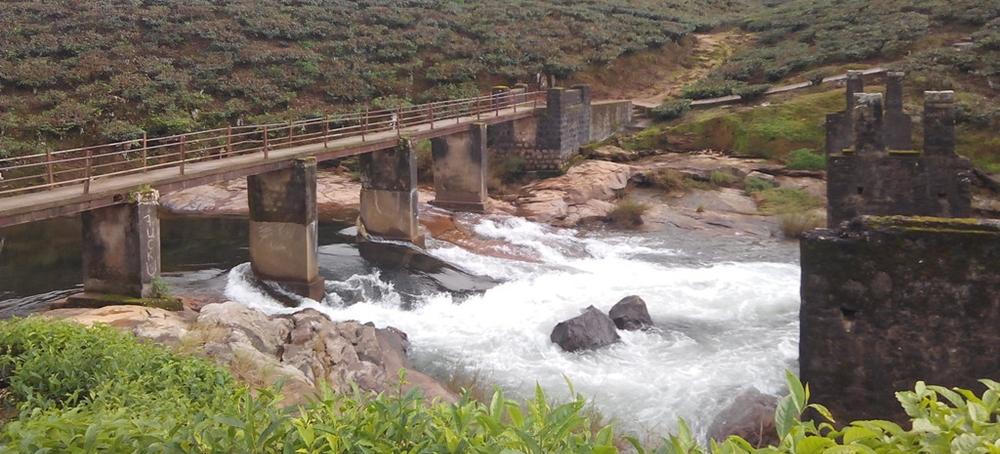 Birla falls in Valparai
