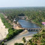 Kannur Beach and trees