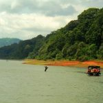 Boating in Thekkady's Periyar Lake