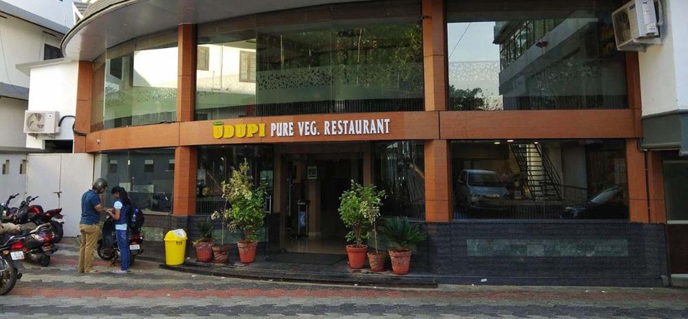 A pure veg restaurant in Wayanad