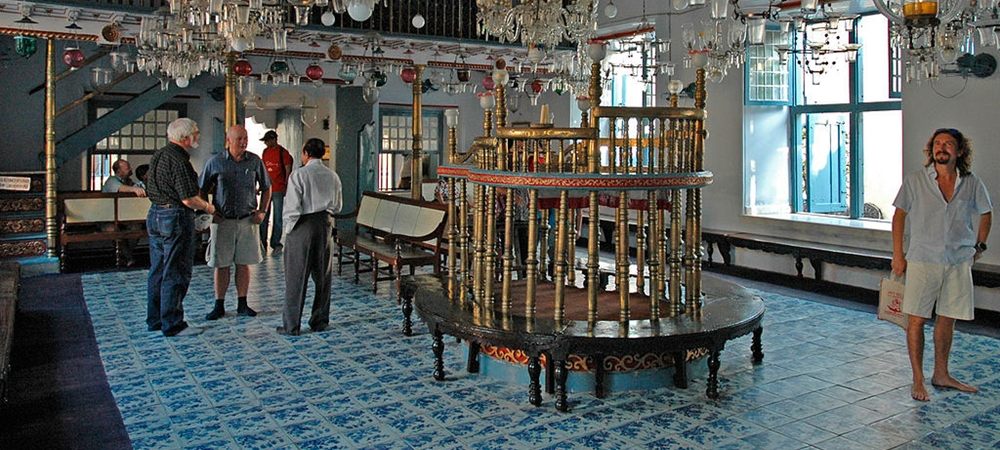 Inside the Jewish Synagogue