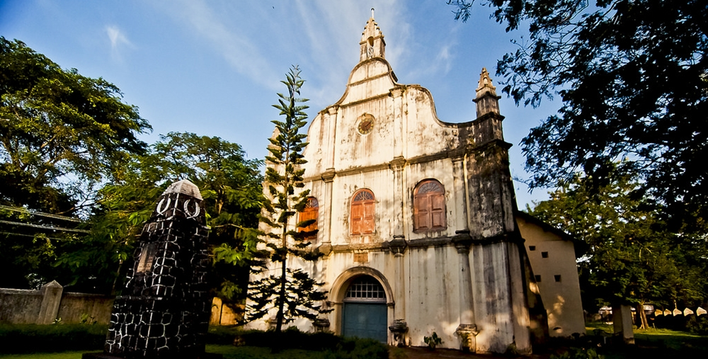 The St. Francis Church in Fort Cochin