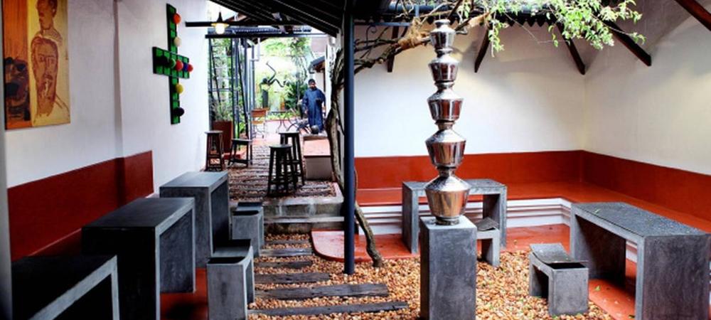 Inside Kashi Art Cafe