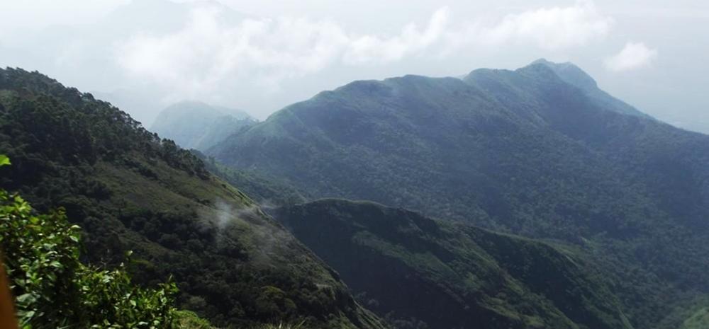 The majestic view point in Koodaikanal
