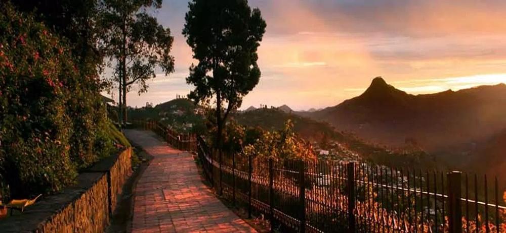 Coalker's Walk during sunset