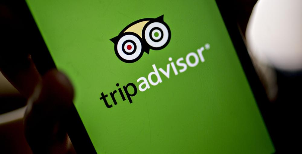 Using TripAdvisor on the phone