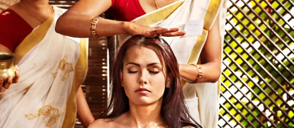 Ayurvedic beauty treatment