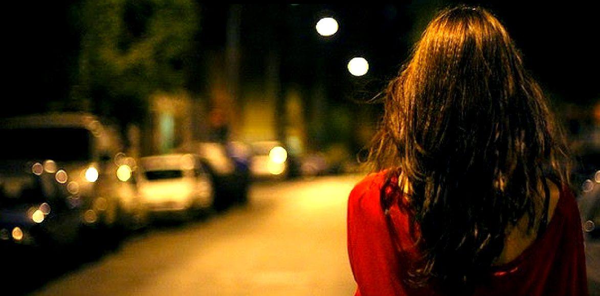 Kerala girl at night