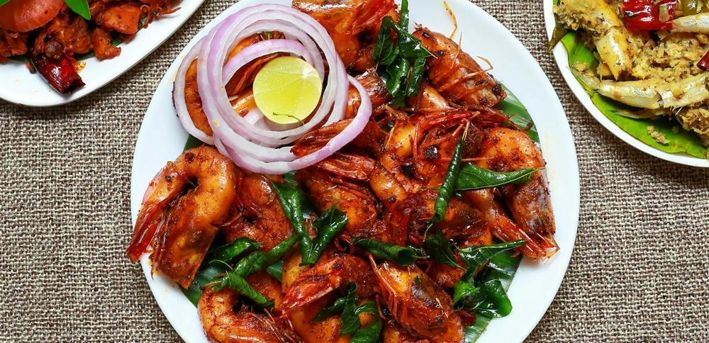 Seafood at Panakyam Restaurant