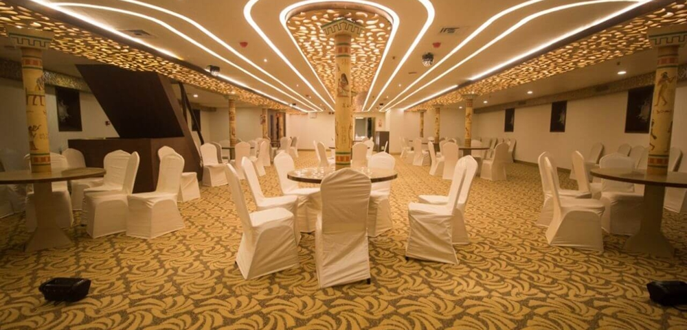 Banquet Hall in the Nefertiti Cruise