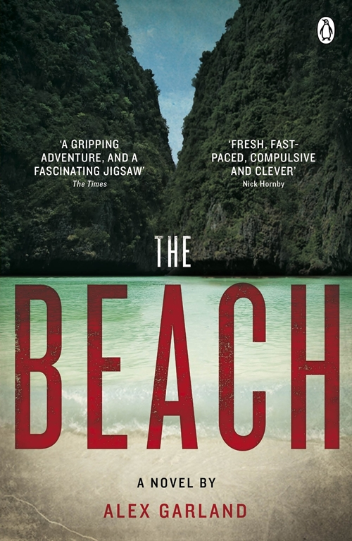 The Beach - Book Cover