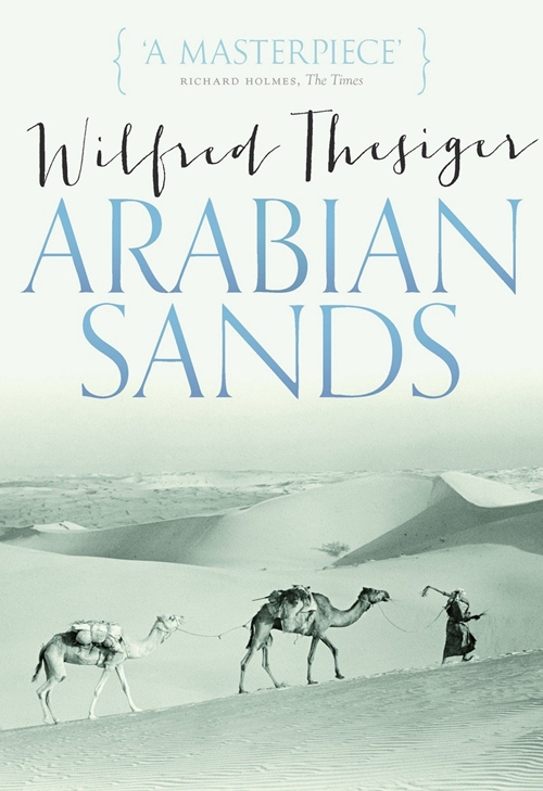 Arabian Sands - Book Cover