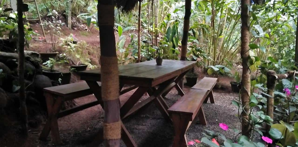 The dining area at Greenspaces Serviced Villa