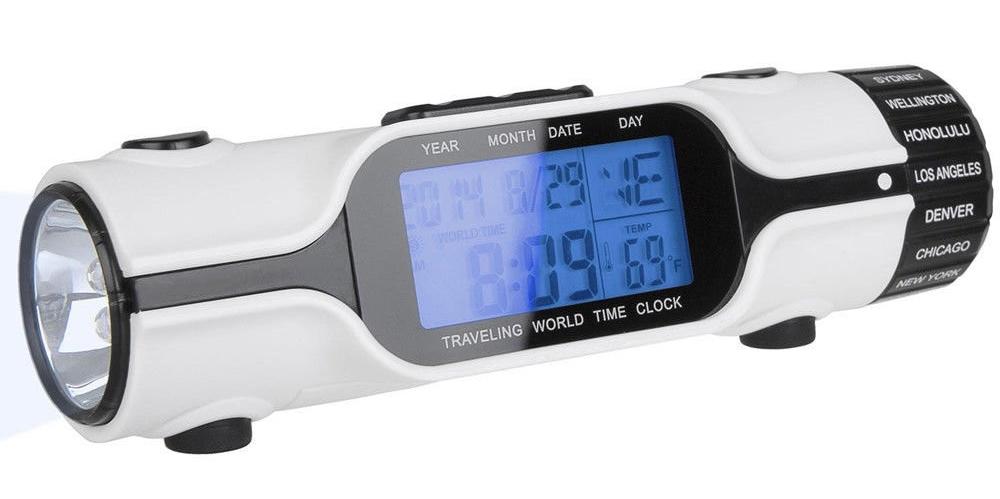 Pocket Torch having digital clock