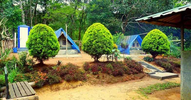 periyar tiger trail camp site