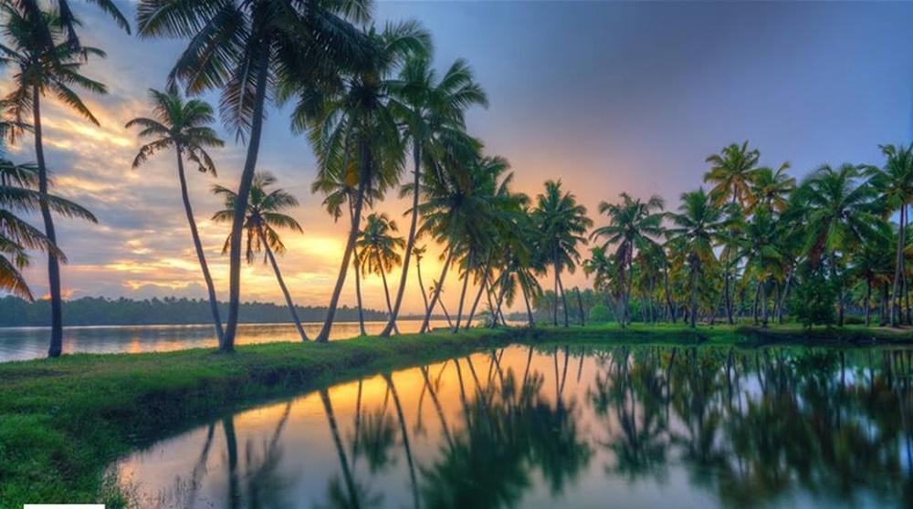 Kerala's scenic backwaters
