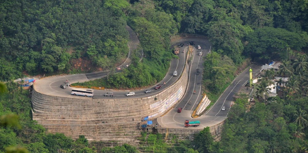 Winding roads of Wayanad