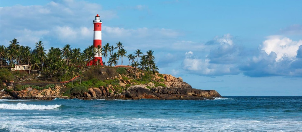 LIghthouse at the Kovalam Beach