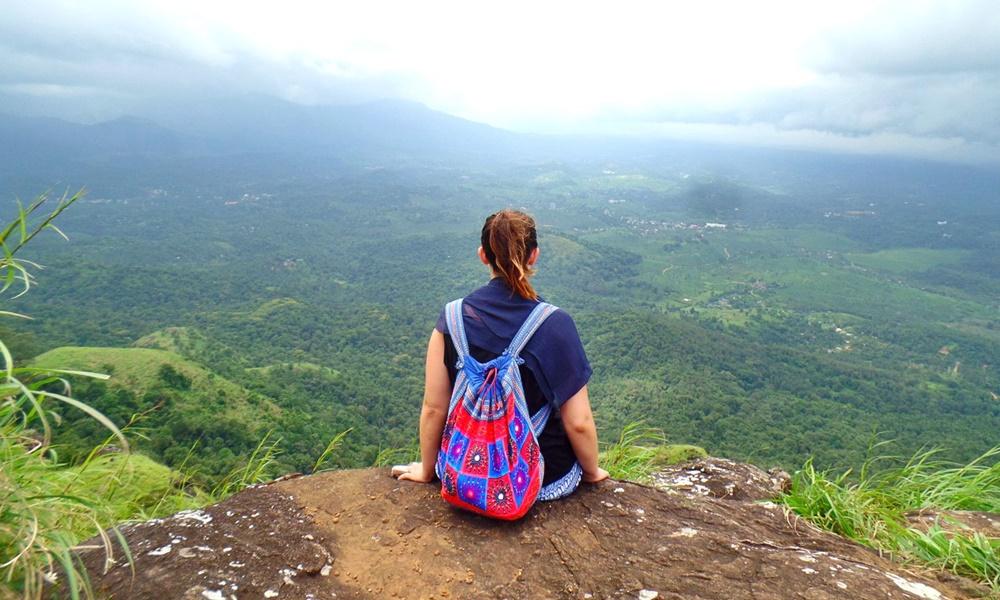 Traveler in Kerala