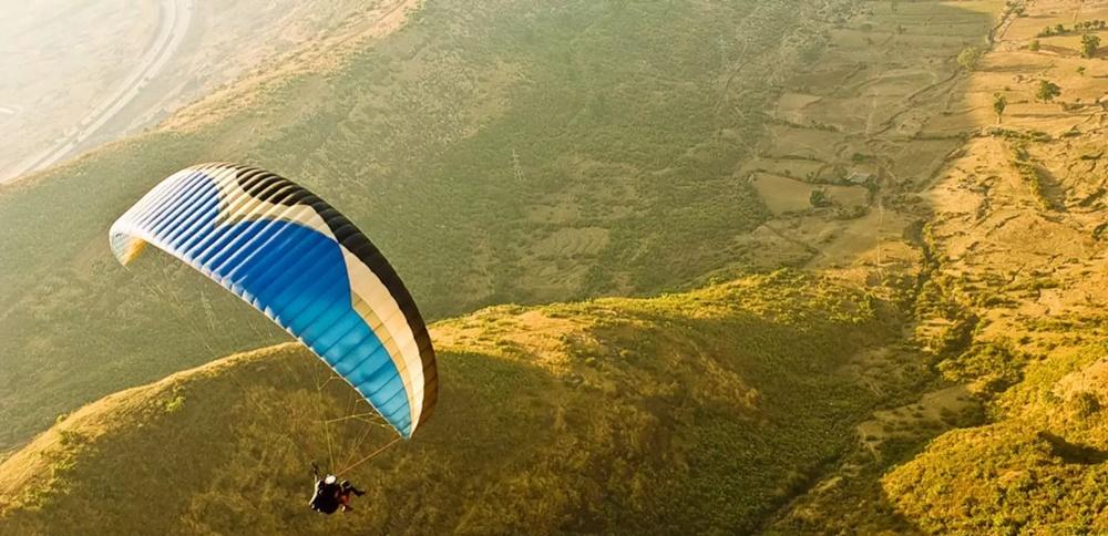 Paragliding in Vagamom