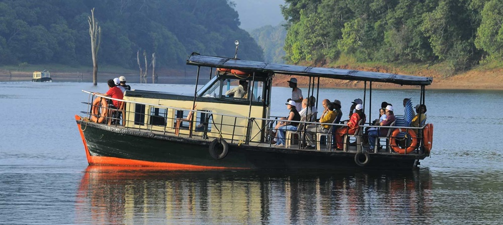Periyar Boating in Thekkady
