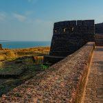 Heritage Site near the ocean in Kerala